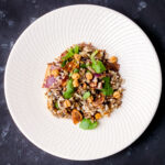 Wild Rice Salad with Puffed Quinoa and Dried Figs