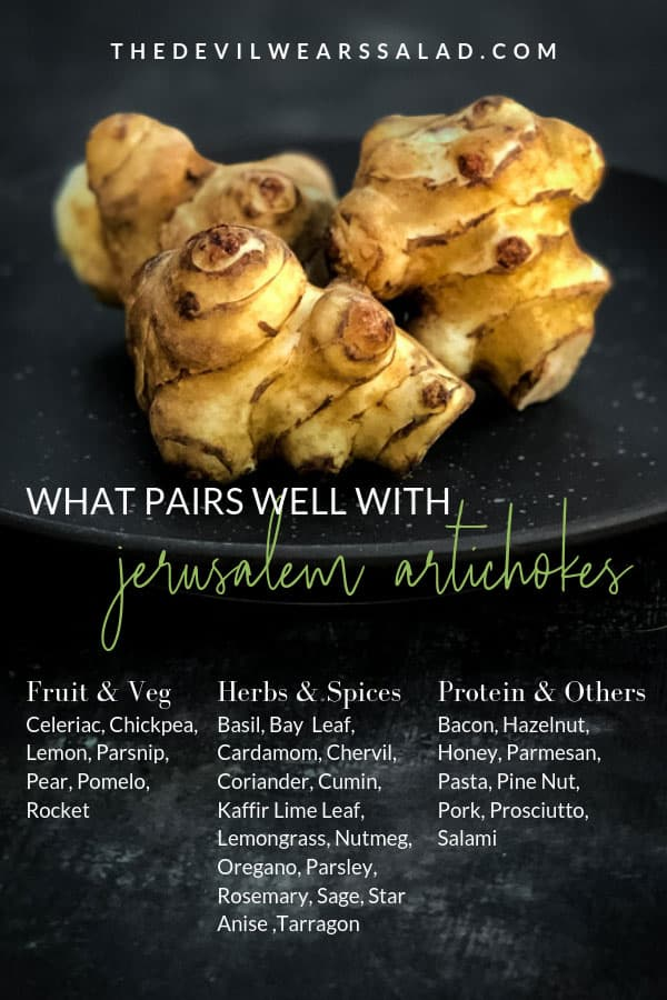 What Goes Well with Jerusalem Artichoke?