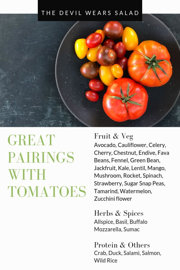 What Goes Well with Tomato?