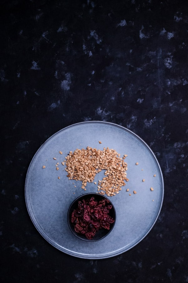 Dried Black Cranberries Crushed Peanuts Roasted Butternut Pumpkin Salad