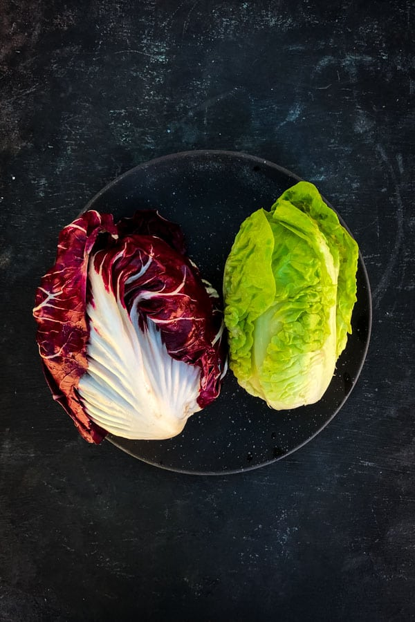 Radicchio, Baby Gem Lettuce Salad