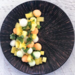 Melon Salad with Maple Syrup and Lime Dressing