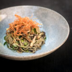 Shimeji Mushrooms, Cucumber, Seaweed and Soba Noodle Salad
