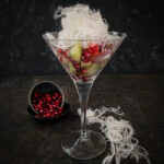 Red and Green Fruit Salad with Vanilla Persian Fairy Floss