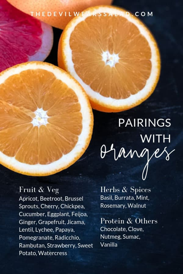 What Pairs Well With Oranges