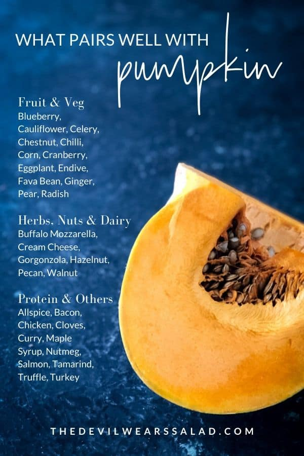 Pumpkin Food Pairings