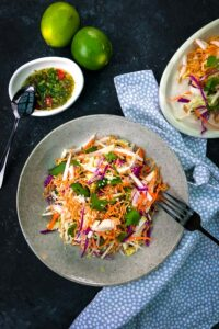 Wombok, Red Cabbage and Apple Slaw
