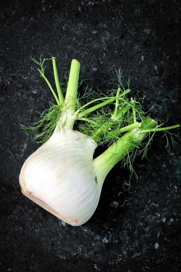 Fresh whole fennel
