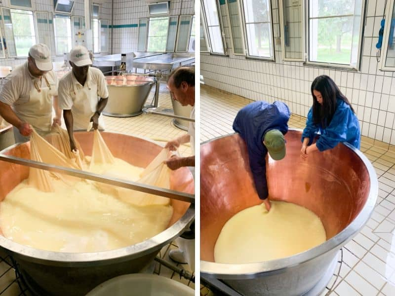 How to Make Parmagiano Reggiano in Italy