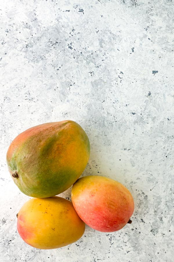 Trio of mangoes