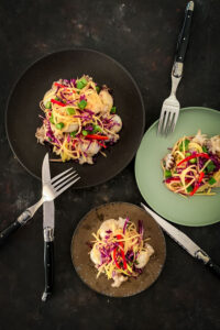 Baby Cuttlefish Salad with Green Papaya