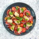 Tomato and Artichoke Salad with Mint Dressing