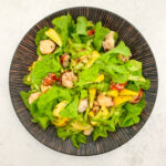 Asparagus, Lobster Tail and Lettuce Salad