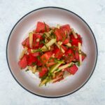Watermelon Salad with Pine Nuts and Mint
