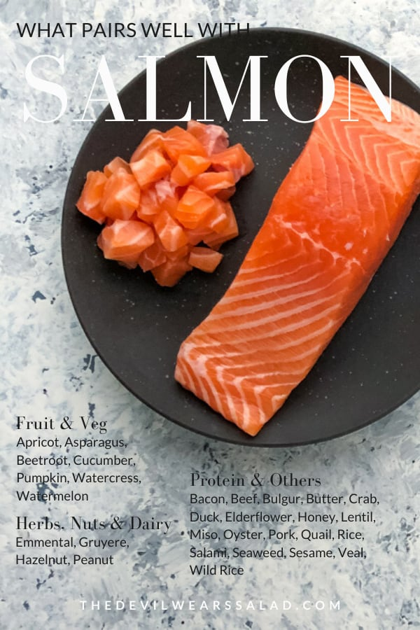 What Goes Well with Salmon