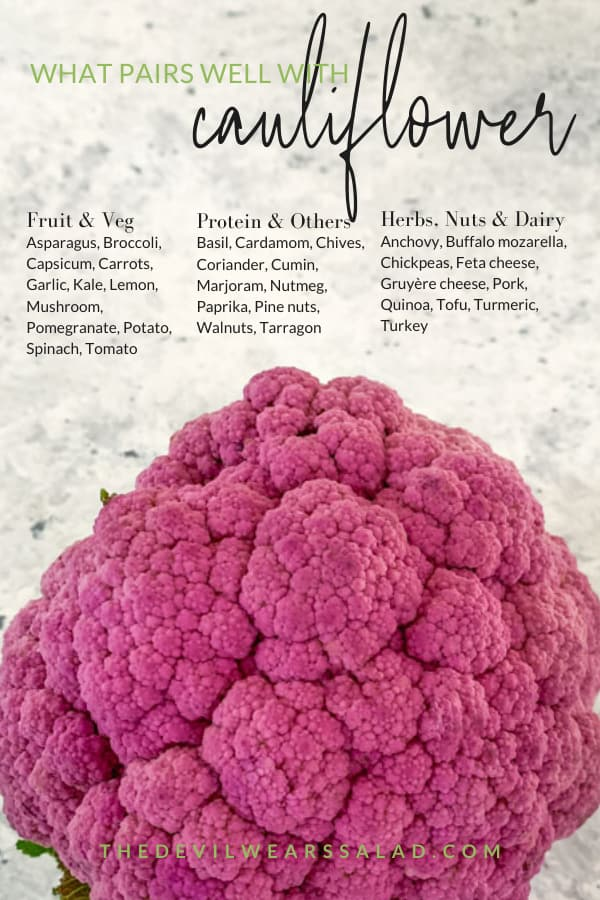 What Goes Well with Cauliflower