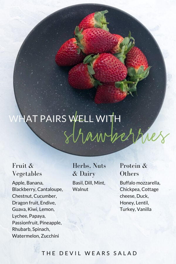 What Goes with Strawberry
