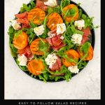 Grilled Apricot Salad with Prosciutto and Goat's Cheese