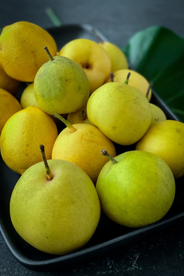 Asian pear or Nashi pear