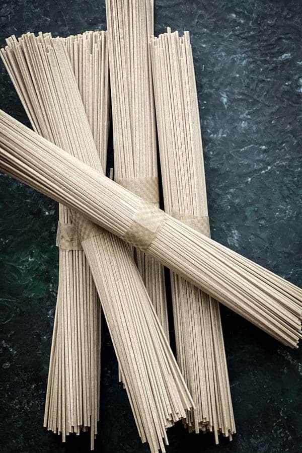 Soba noodle or buckwheat noodle