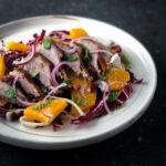 Cantonese Roast Duck Salad with Radicchio