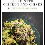 Chinese Cauliflower Salad with Chicken and Chives