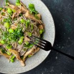 Soba Noodle Salad with Pearl Oyster Mushrooms