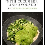 Spicy Green Salad with Cucumber and Avocado