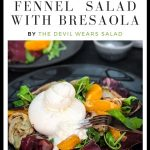 Charred Fennel Salad with Bresaola