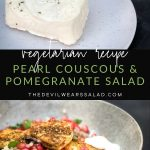 Pearl Couscous and Pomegranate Salad