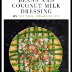 Salad of Snake Beans and Coconut Milk Dressing