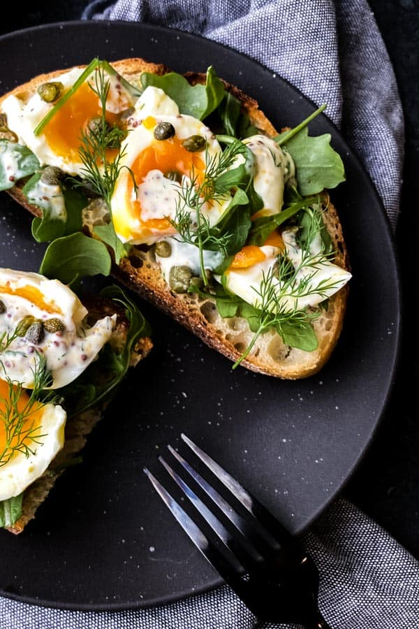 Egg Salad with Dill and Rocket