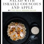 Roast Pumpkin Salad with Israeli Couscous and Apple