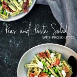 Peas and Pasta Salad with Prosciutto