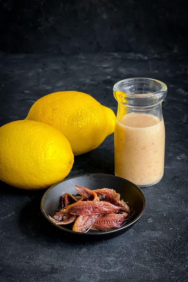 Anchovy Lemon Vinaigrette