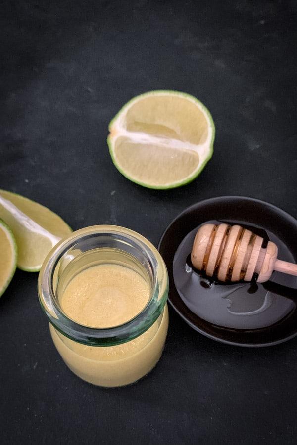 Dijon Mustard Lime Dressing