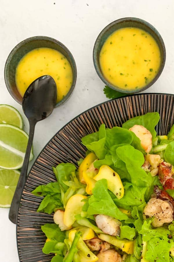 Mango and Lime Dressing