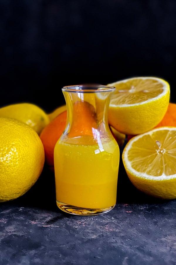 Orange Juice Dressing