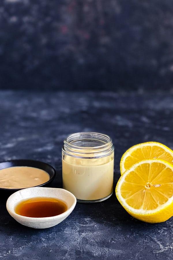 Tahini Maple Syrup Dressing