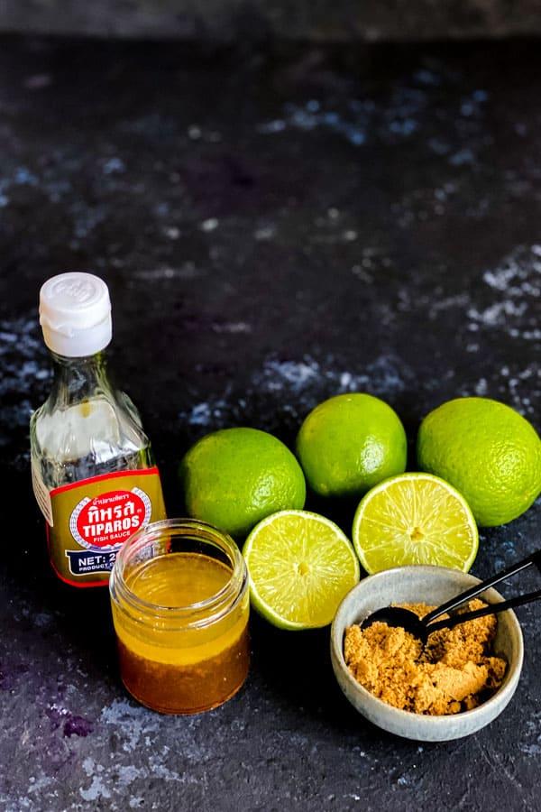 Fish Sauce Lime Vinaigrette