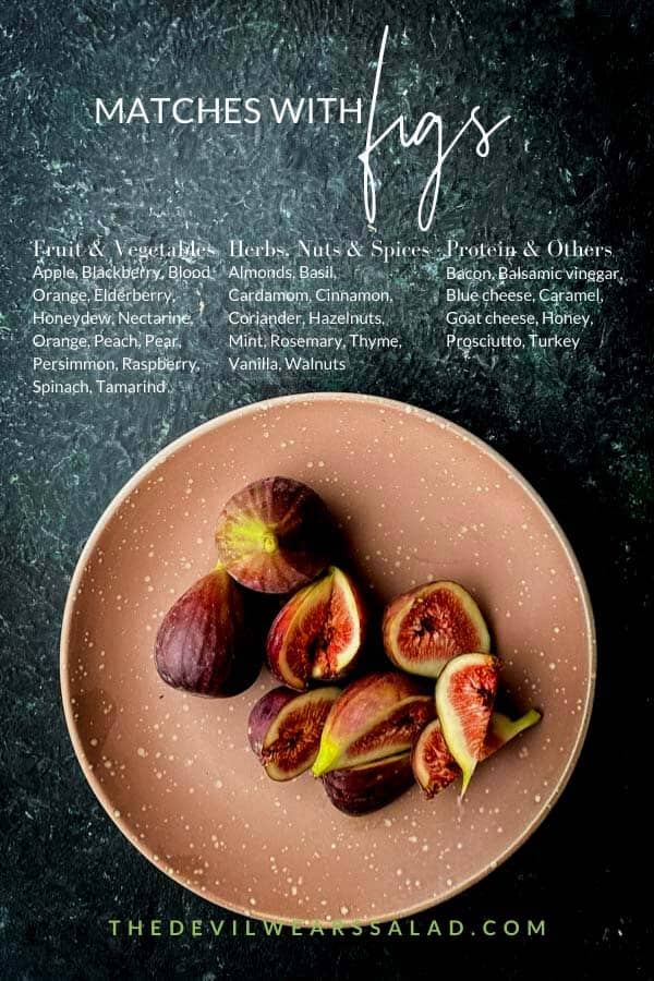 What Goes Well with Figs