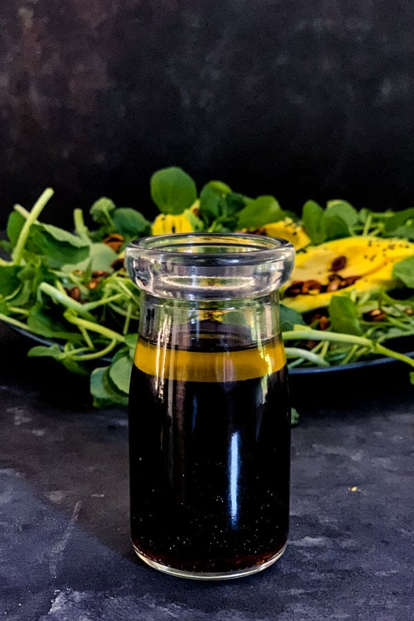 Ponzu Dressing with Sesame Oil