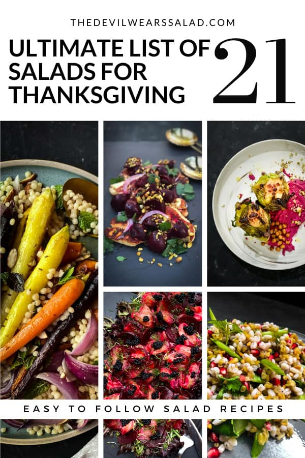 Ultimate List of 21 Salads for Thanksgiving