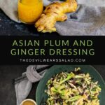 Asian Plum and Ginger Dressing