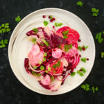 Beetroot Salad with Radicchio and Pomegranate