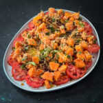 Charred Pineapple Salad with Papaya