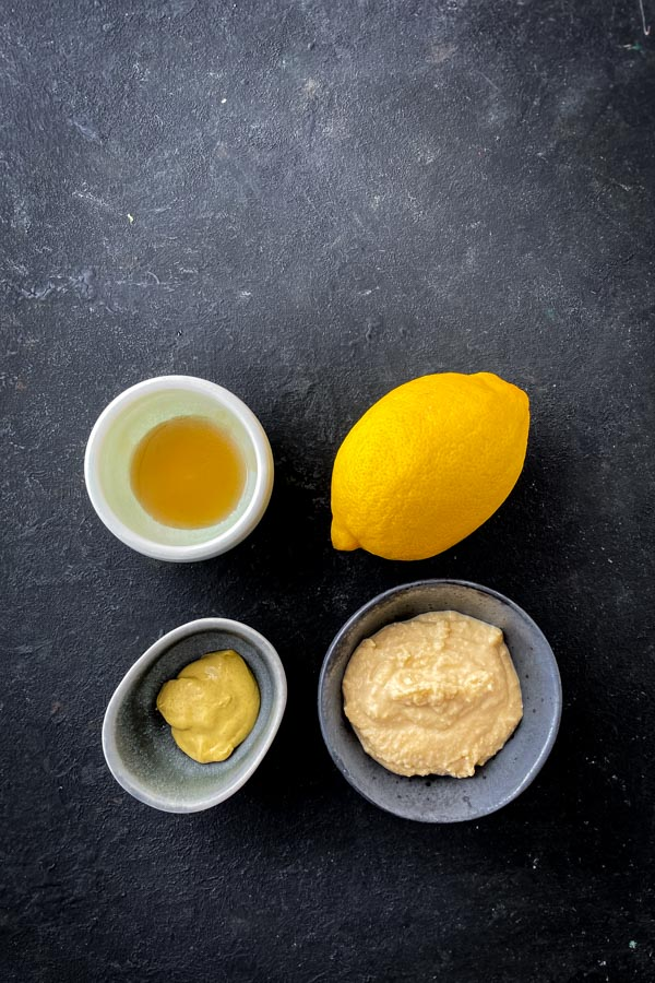 Maple Hummus Dressing Ingredients