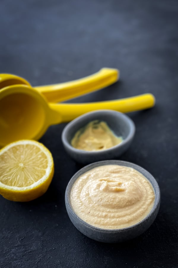 Maple Hummus Dressing