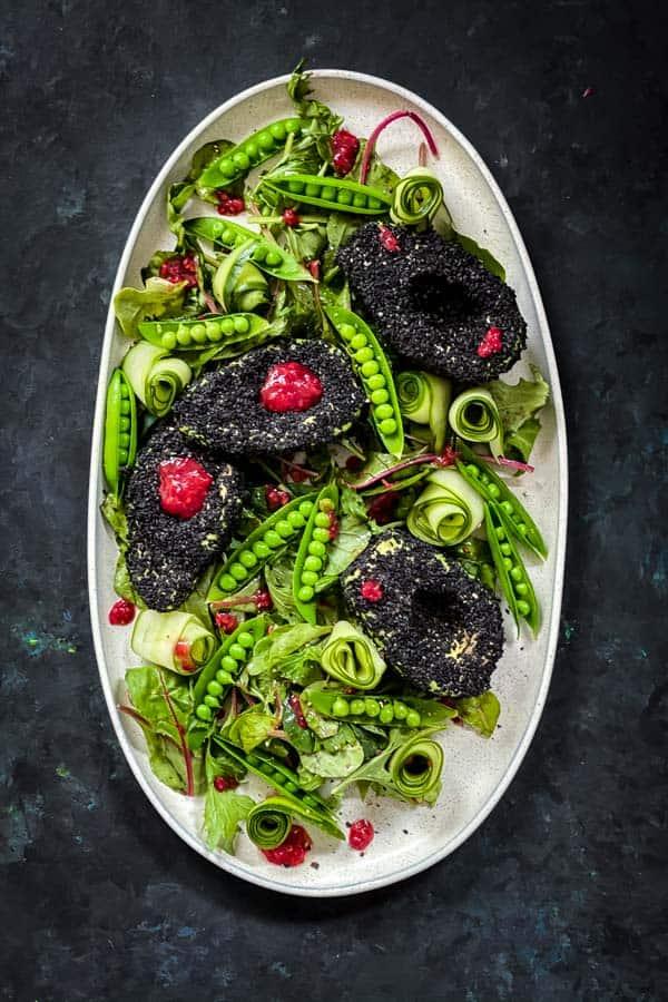Sesame Avocado Cucumber Salad