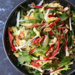 Chinese Cabbage Salad with Tamarind Nam Jim